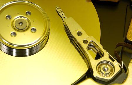 コンピューターのハード ドライブ