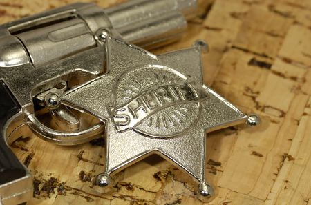 sheriffs: Sheriffs Badge and Gun