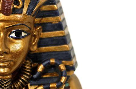 pharoah: Egyptian Casket Stock Photo