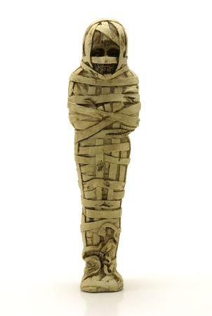 Mummy in a Casket