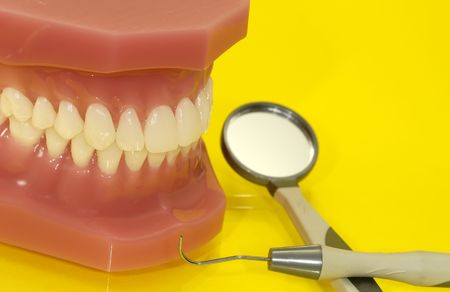 periodontal: Dental Related Items Stock Photo