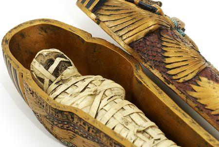 pharoah: Mummy in a Casket