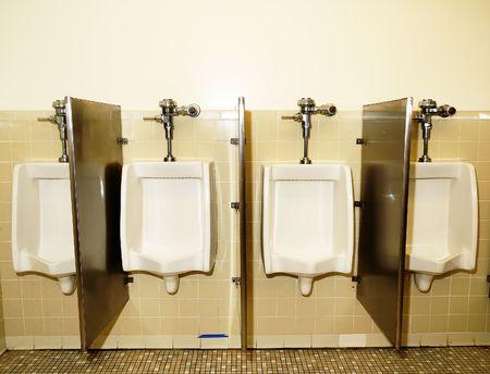 partitions: Bathroom Urinals