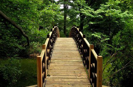 Photo of a Bridge Walkway Stock Photo - 472317