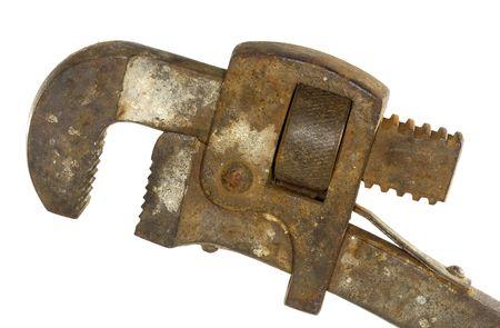 Vintage Pipe Wrench Reklamní fotografie