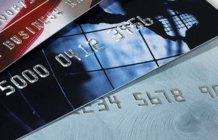 Business Credit Cards Stockfoto