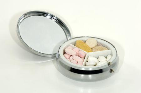 Photo of a Pill Case Stock fotó