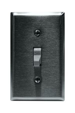Isolated Light Switch Reklamní fotografie - 516140