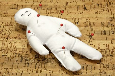 curse: Voodoo Doll With Pins