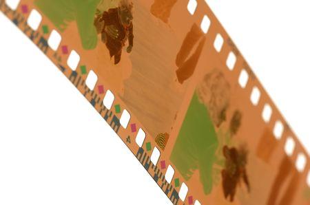 Photo of a 35mm Film Negative