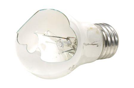 Photo of a Broken Light Bulb