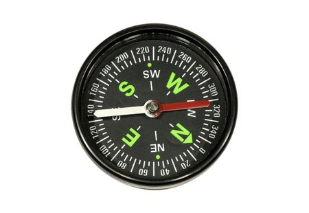 Photo of a Black Compass