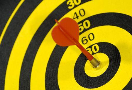 Photo of a Dart in a Dartboard - Bullseye