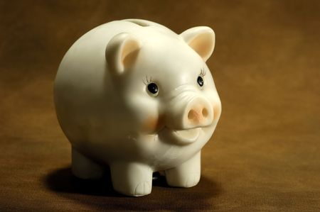 college fund savings: Photo of a Piggy Bank - Banking Concept