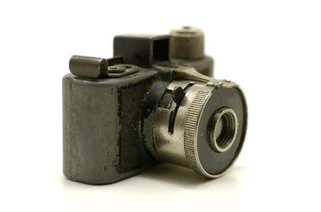 Foto van een Vintage Spy Camera Stockfoto