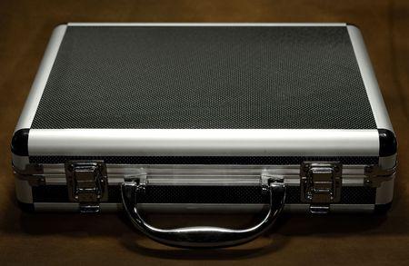attache case: Photo of a Metal Attache Case