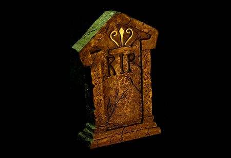 Photo of a Tombstone - Rest In Peace (RIP) Stock Photo - 564711
