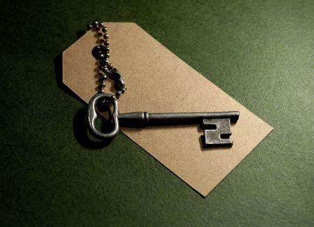 Photo of a Vintage Skeleton Key
