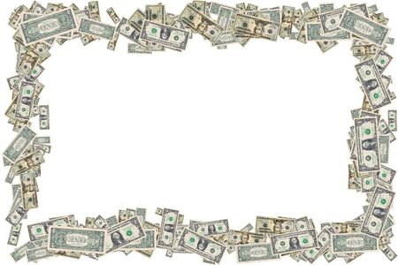 Photo of US Currency - Frame Stock Photo