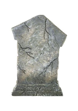 Geïsoleerde Tombstone - Decoratie Stockfoto - 564649