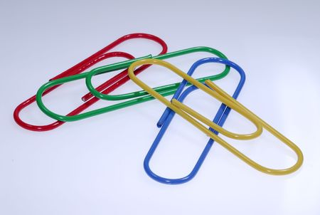 Photo of Color Paperclips - Everyday Office Items