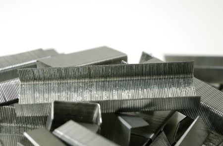 metal fastener: Photo of Staples - Office Related Items Stock Photo