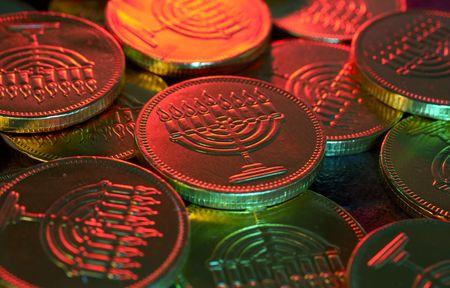 gelt: Photo of Chanukah Gelt (Candy Coins) - Chanukah Related Items
