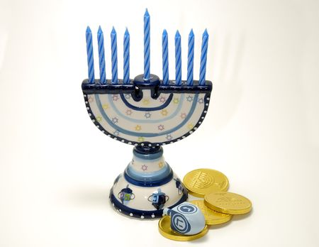 Photo of Various Chanukah Related Objects - Holiday Related