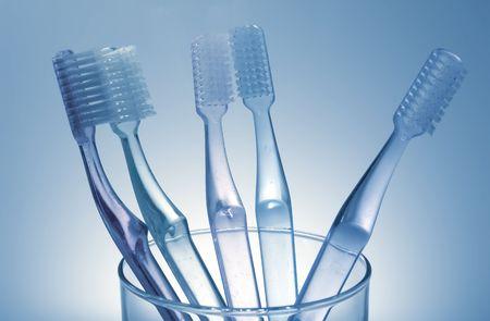 higiene bucal: Foto de Toothbrushes - la higiene bucal y dental relacionados
