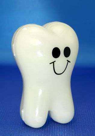 Photo of a Plastic Toy Tooth - Dental Related