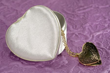 Photo of a Heart Shaped Box and Heat Lockheart - Love Related