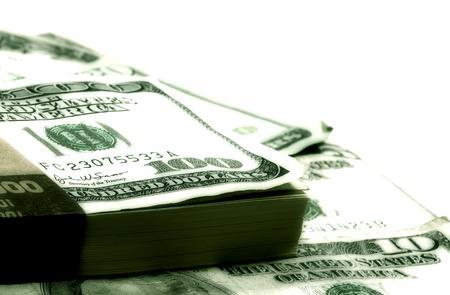 amounts: Photo of Various Dollar Bills and Amounts - Money Background