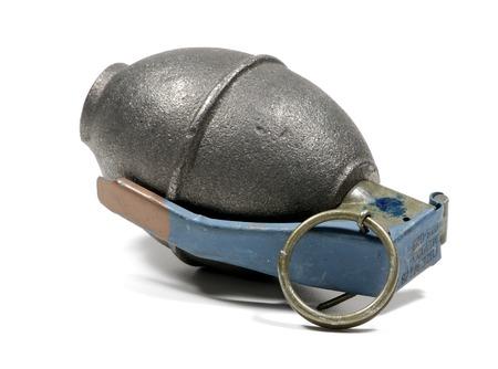 Foto de una granada de mano - Arma / Guerra relacionados  Foto de archivo - 1703089