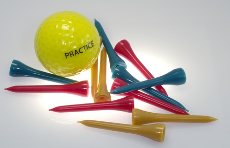 Photo of a Golf Ball and Golf Tees - Sport Related