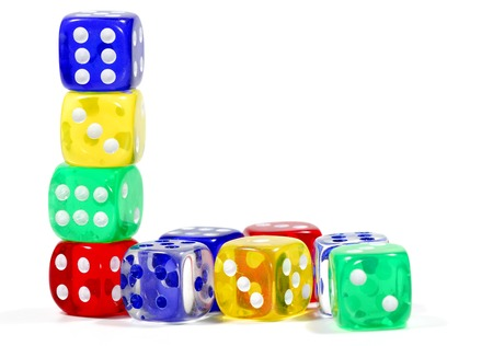 Photo of Various Color Dice - Gambling Related