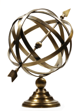 vane: Photo ofa Weather Vane - Decorative Ornament Stock Photo