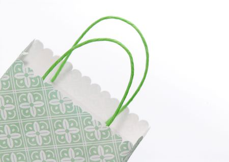 Photo of a Shopping / Gift Bag - Retail and Holiday Related Stockfoto