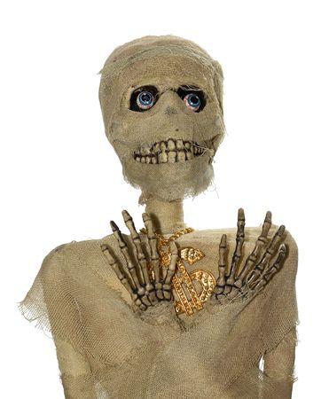 Foto de una momia - Decoración Foto de archivo - 1849137