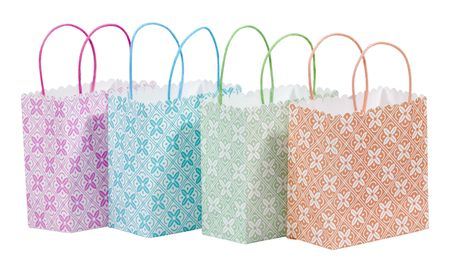 Foto de color diferentes bolsas de la compra - bolsas de regalo  Foto de archivo - 1849135