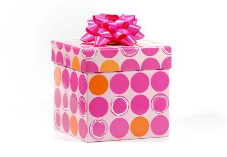 Foto de una caja de regalo - Holiday / Cumpleaños de objetos relacionados  Foto de archivo - 1861381