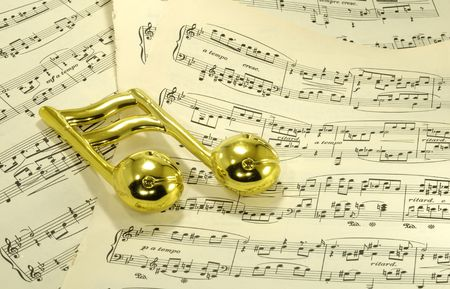 Photo of Sheetmusic - Music Related  Background