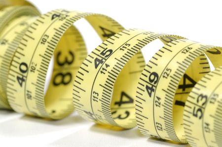 Photo of a Yellow Tape Measure - Everyday Object