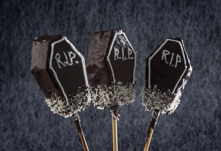 nontraditional: Non-traditional halloween lollipops
