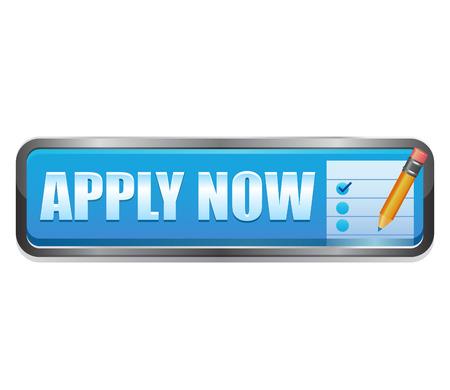 apply now: Apply Now vector button Stock Photo