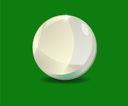 cue: Sphere or cue ball icon