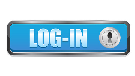 login button: Login button icon Stock Photo
