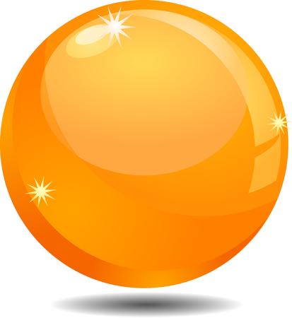 sphere icon: Golden orb or sphere icon