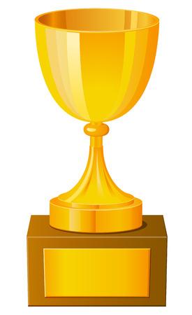 achievement clip art: Cup trophy icon