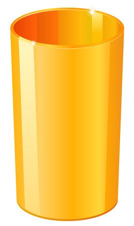 tumbler: Gold tumbler icon