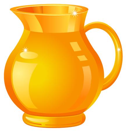 金の花瓶や投手のアイコン  イラスト・ベクター素材